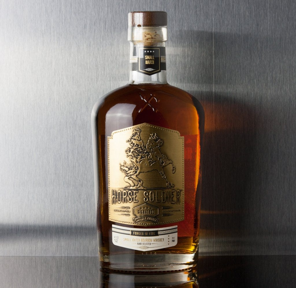 Horse Soldier Small Batch Bourbon | Third Base Market and Spirits | Third  Base Market & Spirits