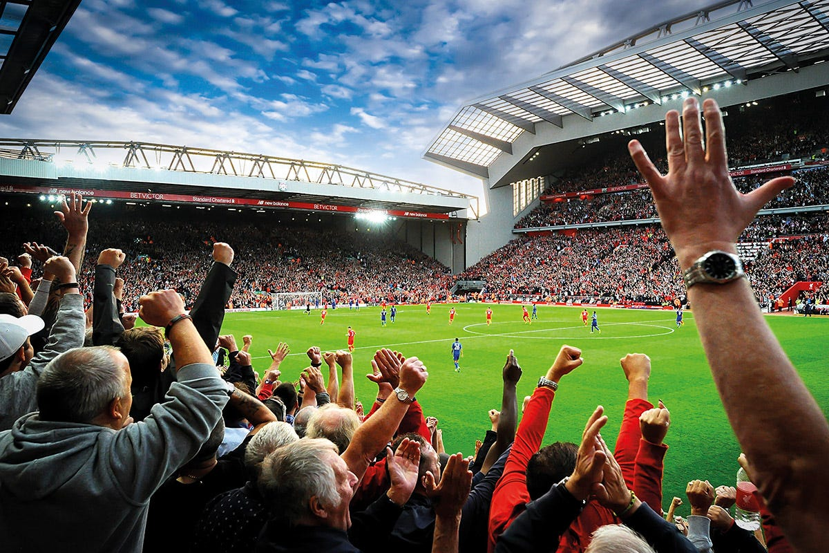 Anfield Experience & VIP Lunch - Anfield Tour