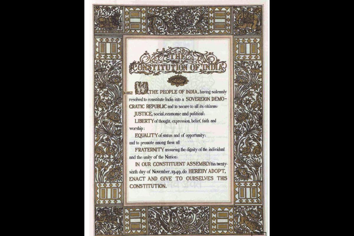 Spirit of Constitution