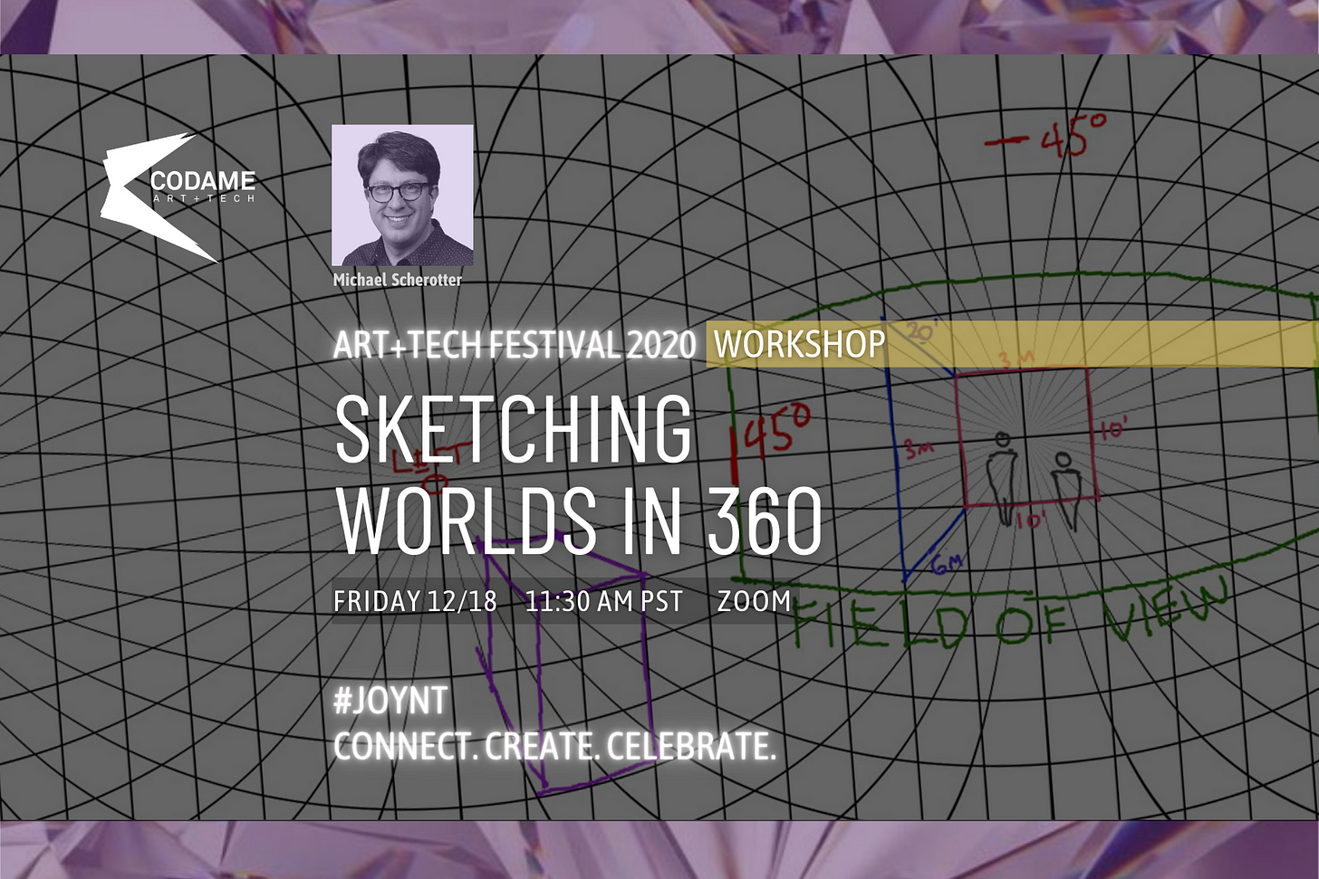 Sketching Worlds in 360
