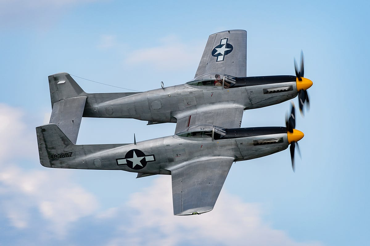 XP-82 Twin Mustang -- Transportation in photography-on-the.net forums
