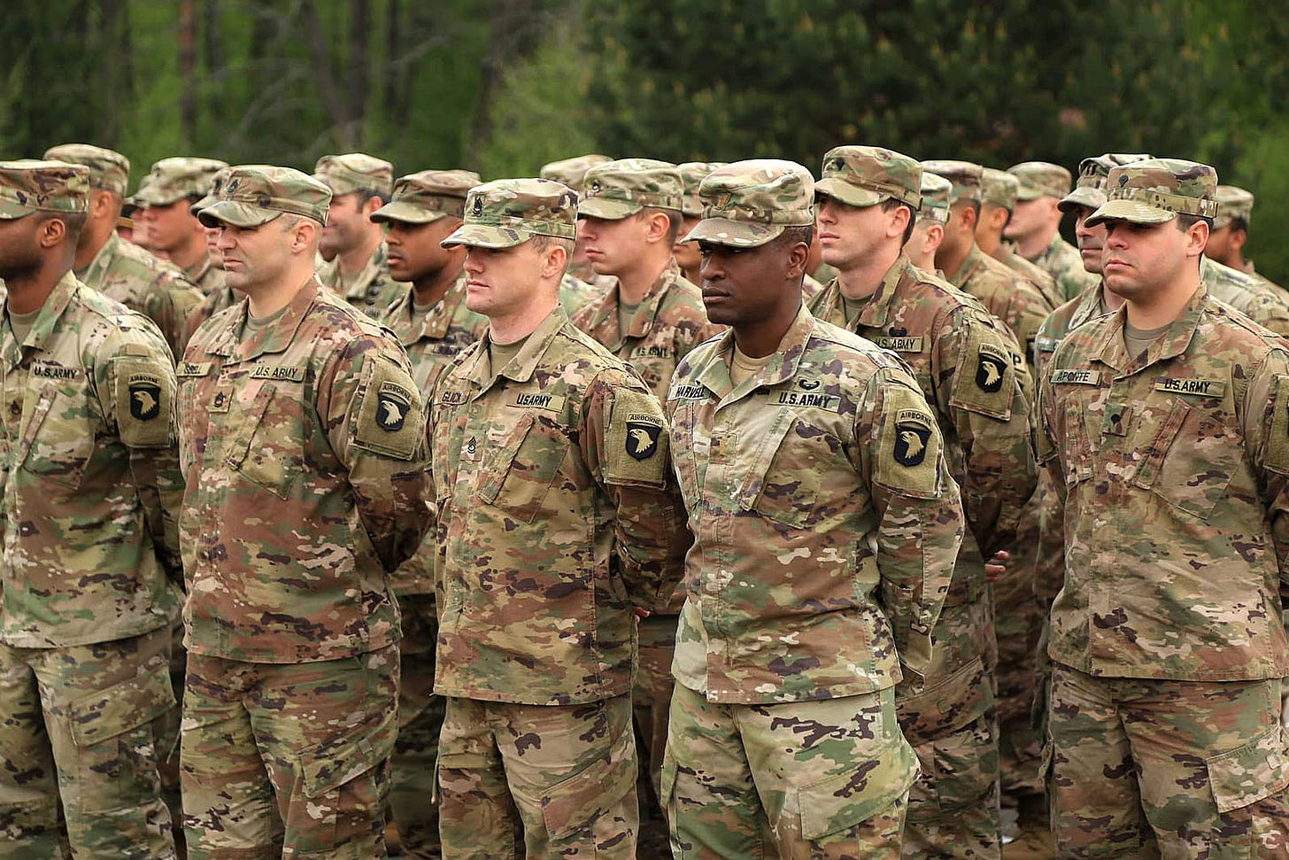 US Army 101st Airborne soldiers deploy to Ukraine   KyivPost - Ukraine's  Global Voice