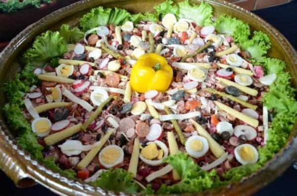 Fiambre, a traditional Guatemalan dish