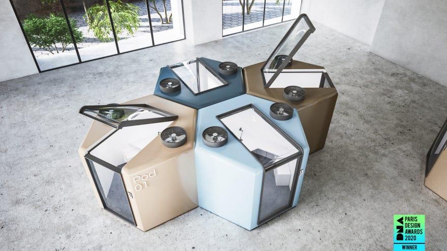 Qworkntine: Winner of DNA Paris 2020 Design Award – M Radwan