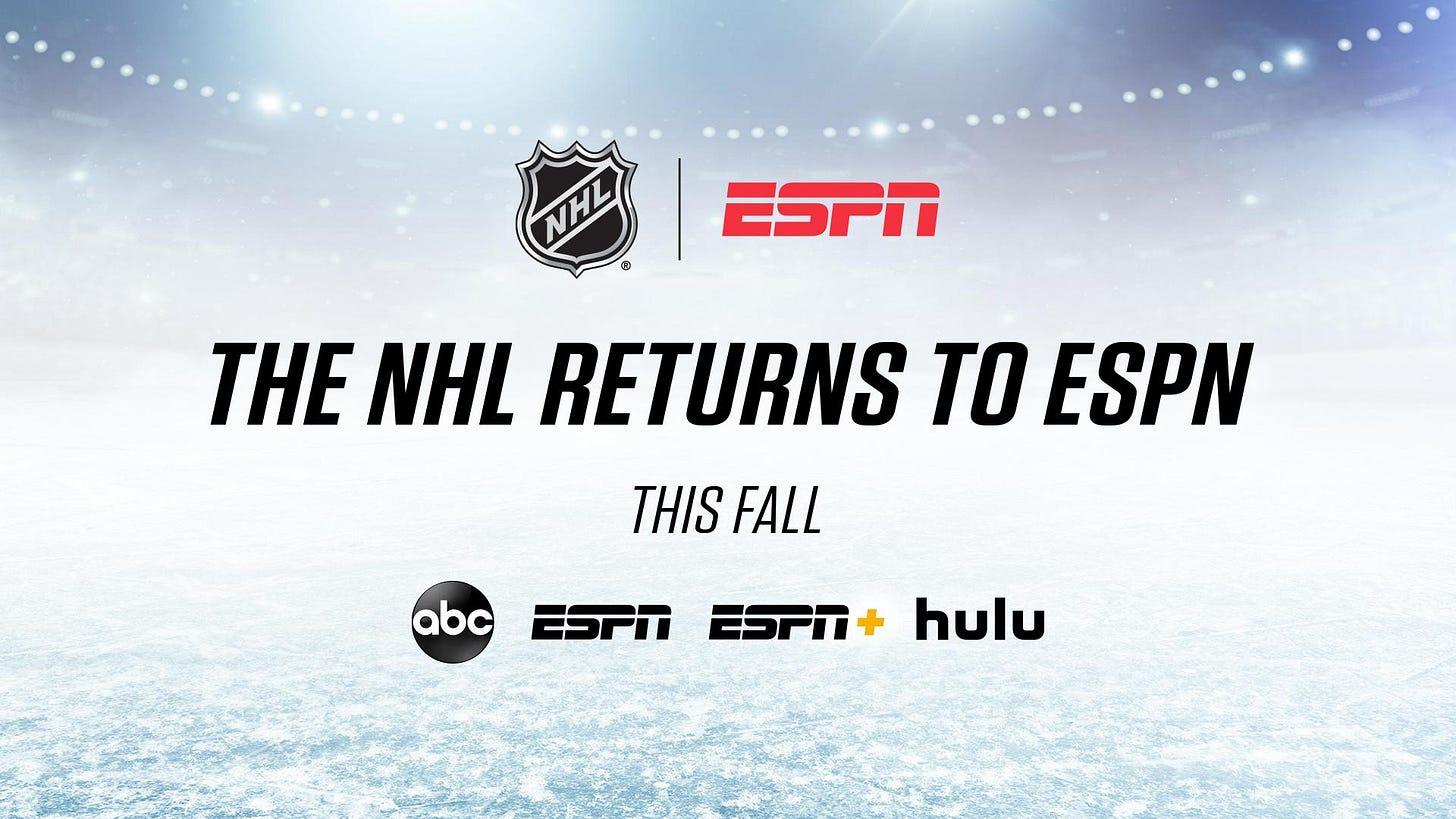 "NHL on Twitter: ""🤝 @espn… """