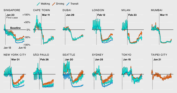 Global data reveals inequality of pandemic travel.