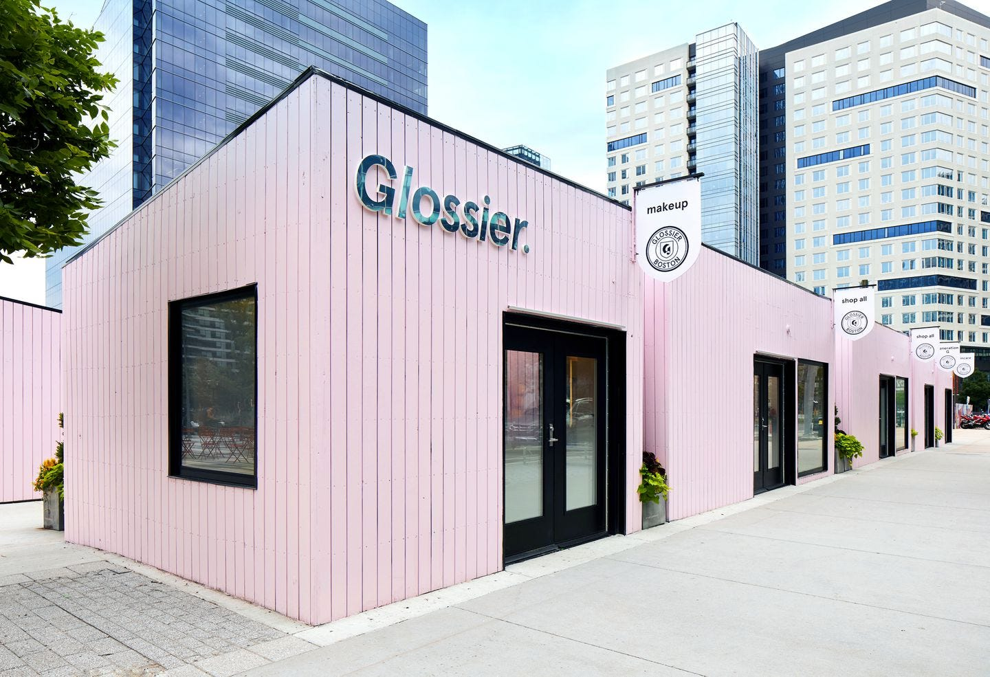 Glossier is opening a pop-up makeup shop in Boston - The Boston Globe