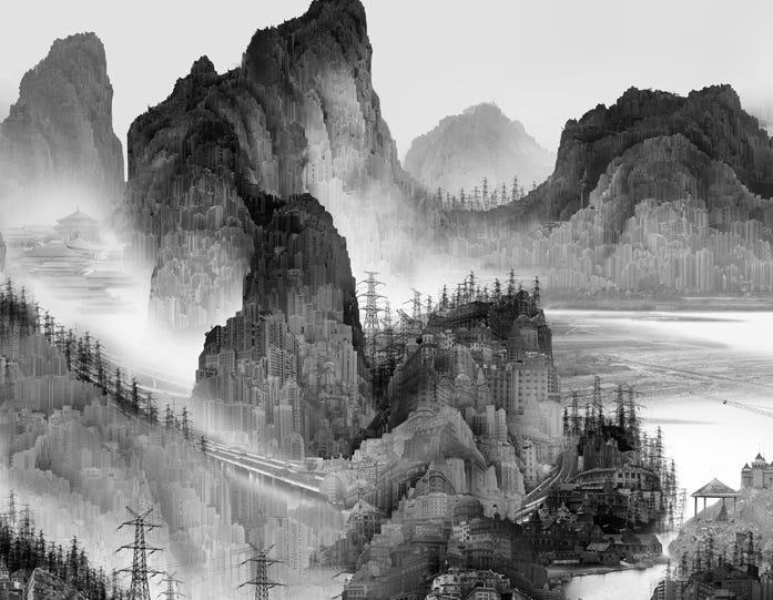 YangYongliang_ArtificialWonderland I-1_人造仙境1