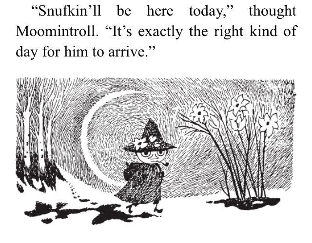 Snufkin arriving