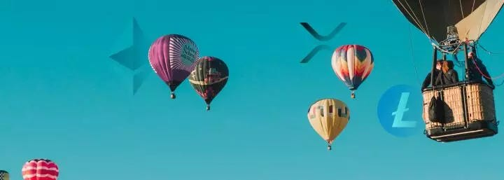 As Bitcoin bounces, are Ethereum, XRP, and Litecoin on their way to new yearly highs?