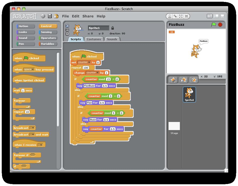 Opinions on Scratch (programming language)