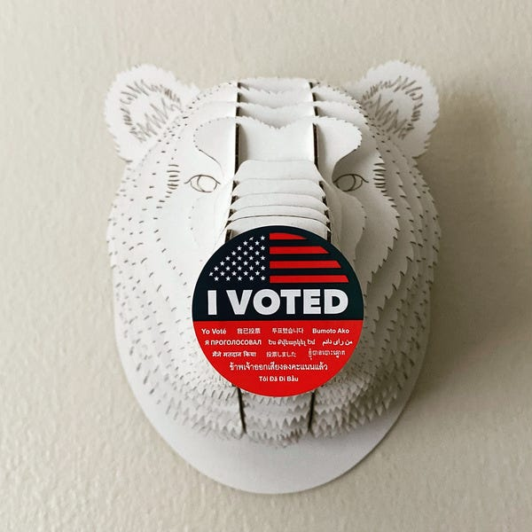 🐻 Don't Be UnBEARable —VOTE 🗳