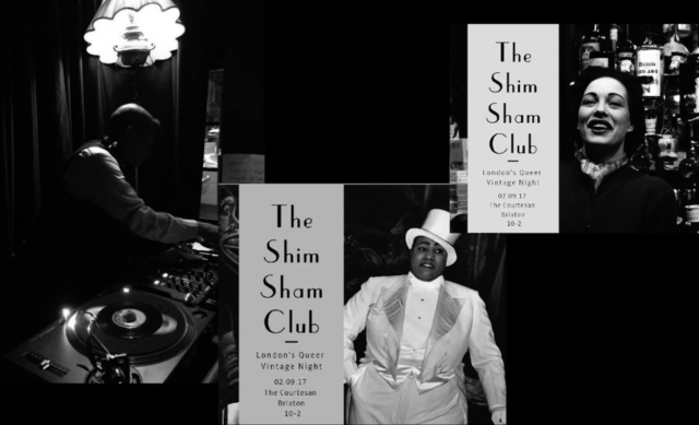 Images of the Shim Sham Club, London's Queer Vintage Night