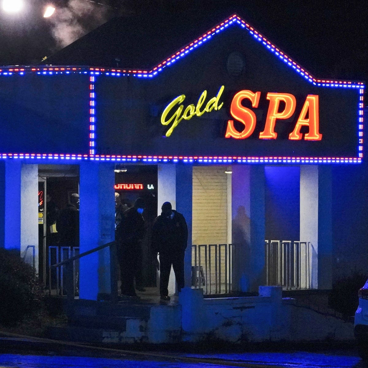 Atlanta massage parlor shootings leave eight dead including six Asian women  | Atlanta | The Guardian