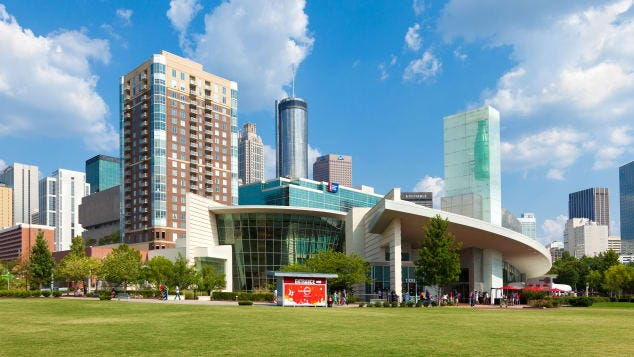 The real thing: The World of Coca-Cola.