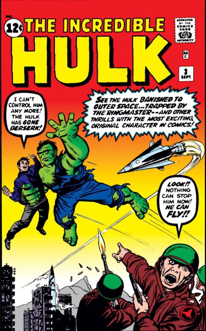 Incredible Hulk Vol 1 3 | Marvel Database | Fandom
