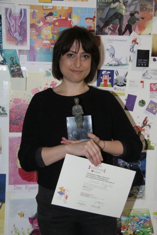Sarah Mazzetti, vincitrice del Premio BCBF Fundación SM 2019