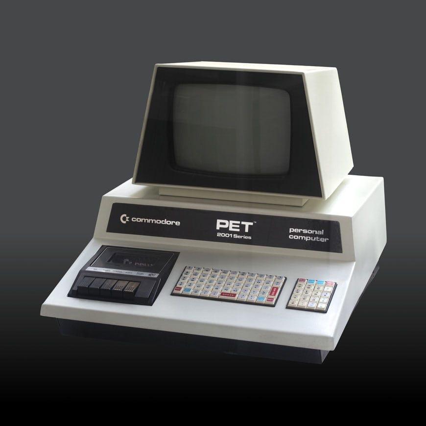 Computer design: Commodore PET 2001 (1977) | Inexhibit