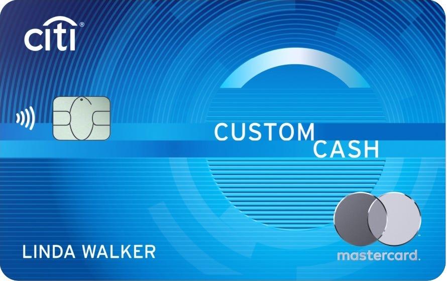 Citi Custom Cash Mastercard