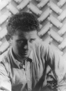 Photo of Norman Mailer.