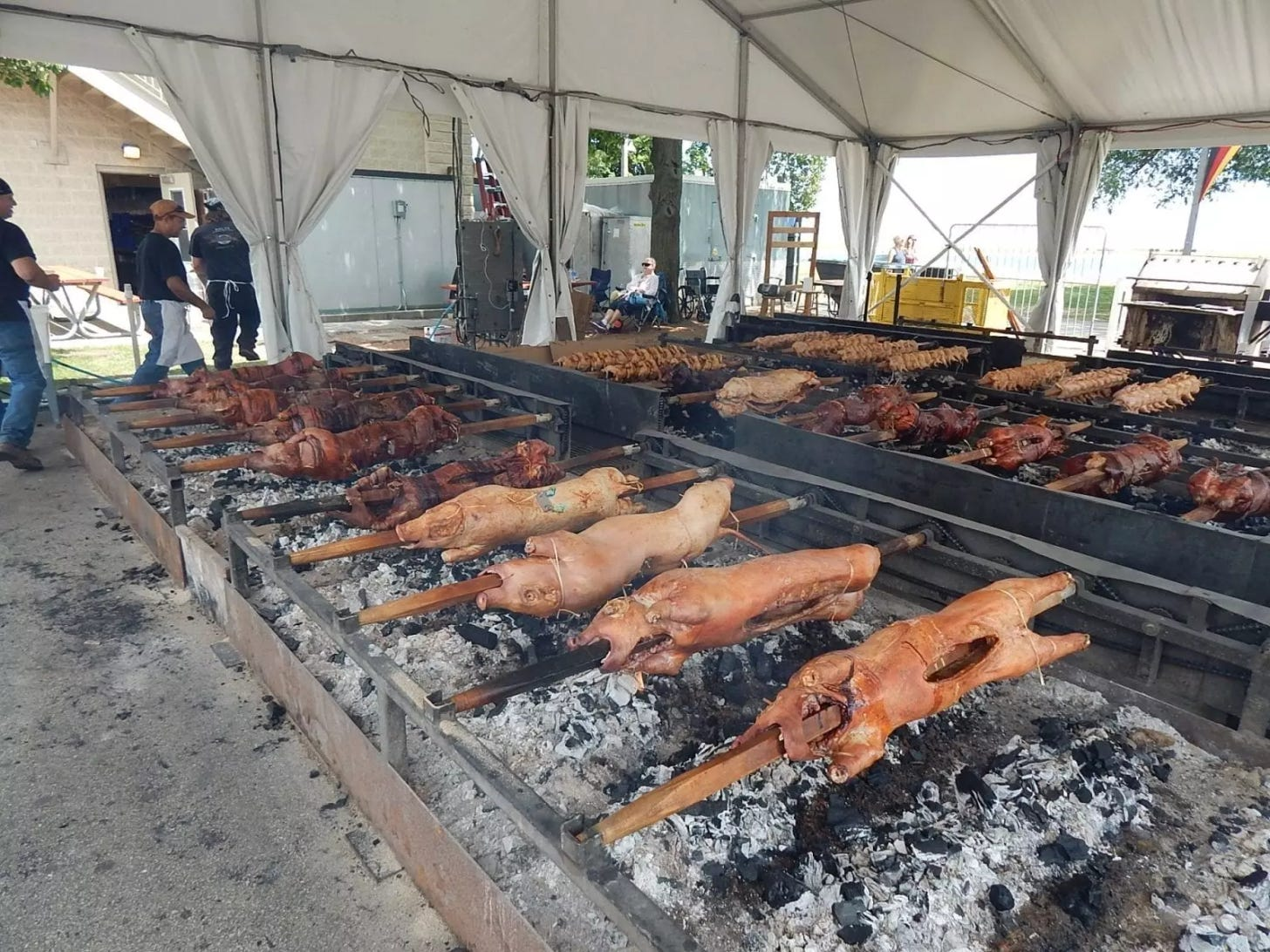What is Spanferkel? A Roasted Pig, Perfect for Any German Festival!