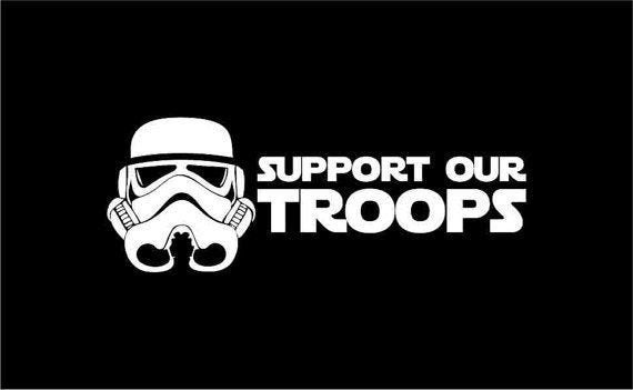 Pin by Divine Orders Vintage Shop on on Etsy's Viral Venue for HandMade  Items @ Etsy | Silhouette cameo projects, Support our troops, Star wars  stormtrooper