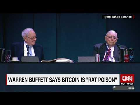 Bitcoin is 'rat poison', says Warren Buffett - YouTube