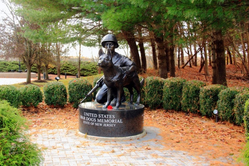 United States War Dogs Memorial | The American Legion