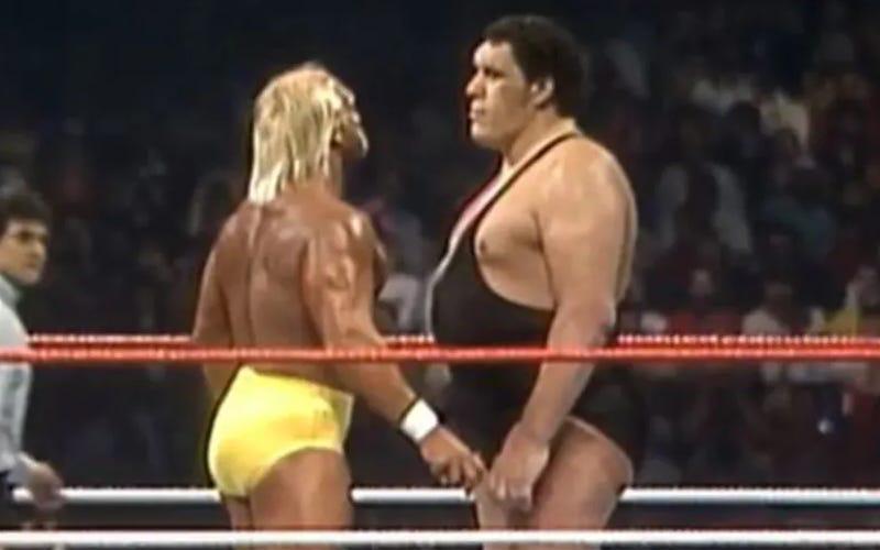 WWE Edits Hulk Hogan vs Andre The Giant WrestleMania III Match In ...