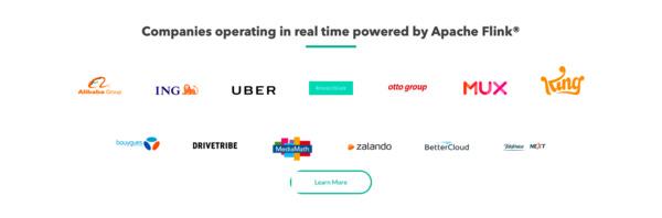 Artisan'ın öne çıkardığı ürünü; Apache Flink'in başlıca müşterileri