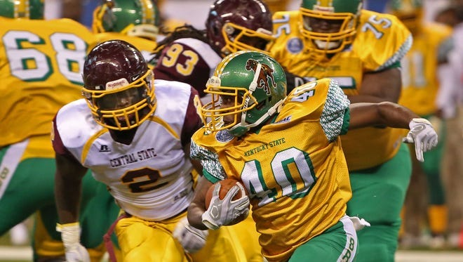 Late Penalty dooms Central State against Kentucky State in Circle City  Classic