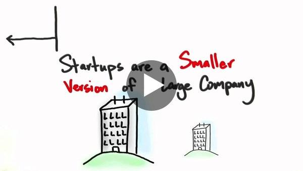 """Startup'lar büyük kurumsal şirketlerin küçültülmüş versiyonları değillerdir.""""Steve Blank"""""""