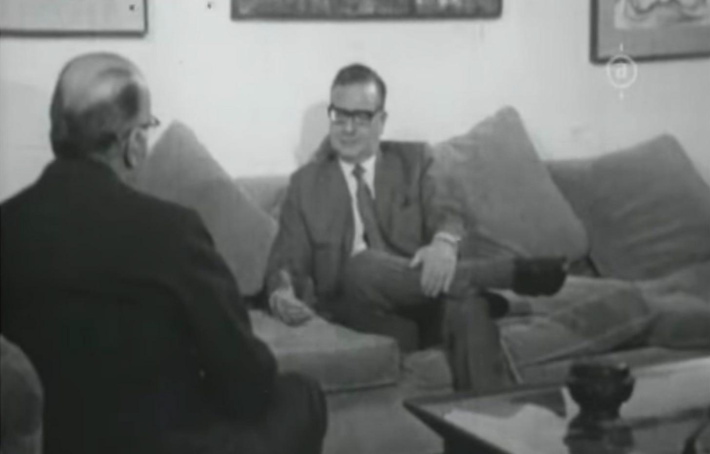 La Forza e la Ragione | Rossellini, Allende e un'intervista memorabile