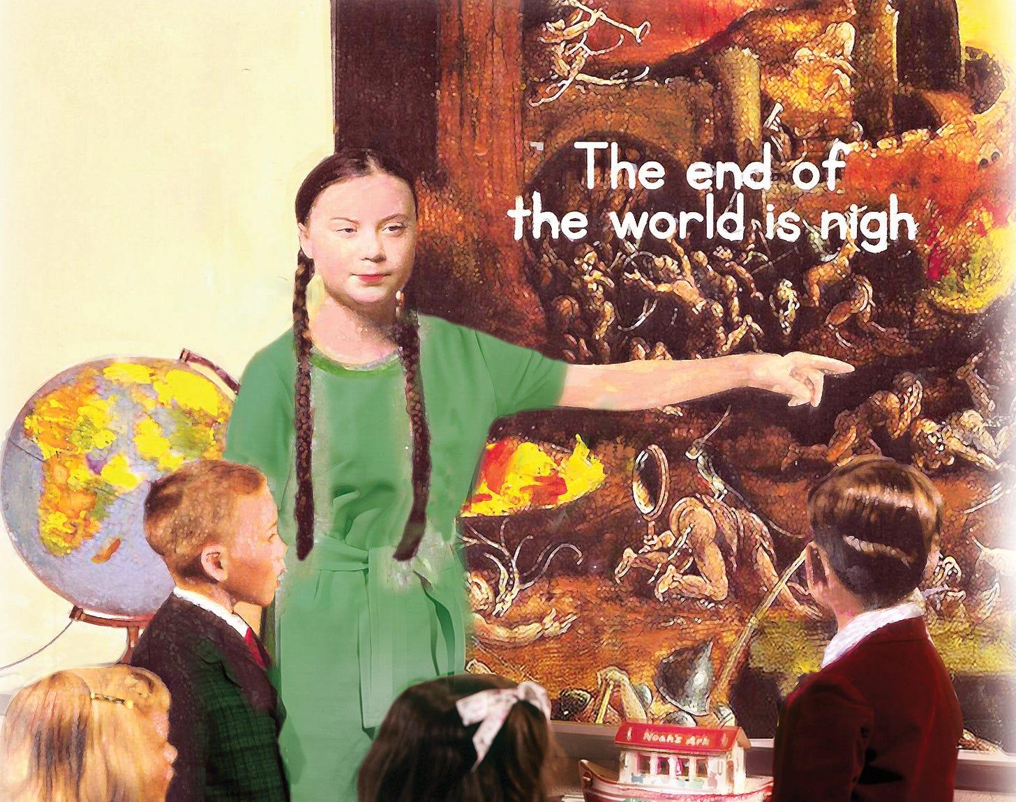 Greta's very corporate children's crusade - Standpoint