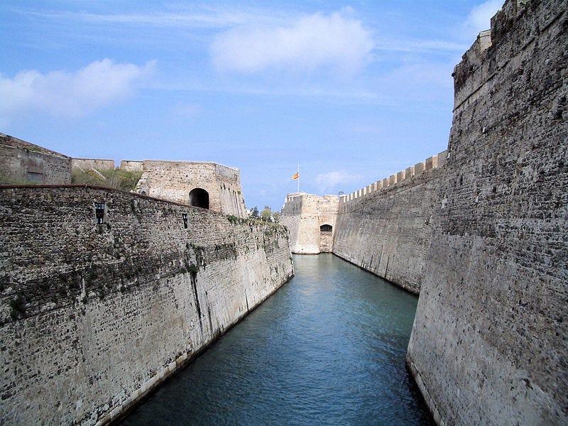 File:Moat of Royal Wall At Ceuta 2.jpg