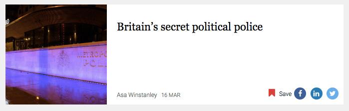 Britain's secret political police