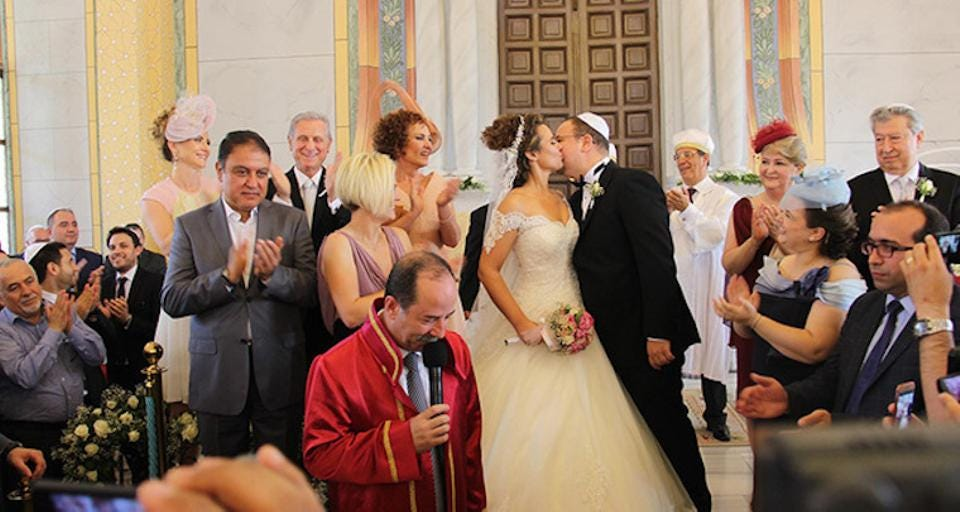 Four decades later, the first Jewish wedding was held in the Grand Synagogue of Edirne in late May 2016 after its reconstruction was finished in 2015 thanks to the Turkish government.