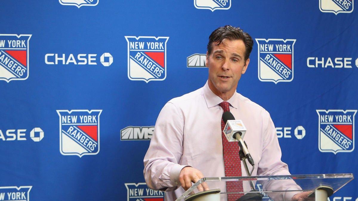 Rangers fire head coach David Quinn after three seasons with team -  CBSSports.com