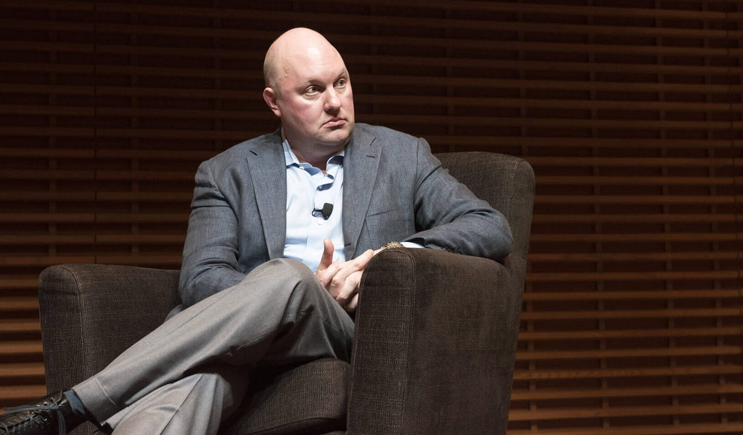 """Marc Andreessen: """"Take the Ego out of Ideas"""" 