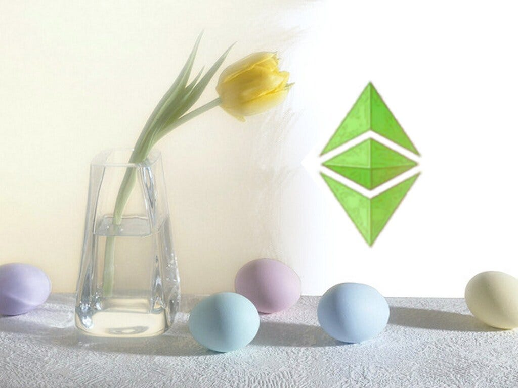 Ethereum Classic Wallpaper - Easter Eggs | Design with love:… | Flickr
