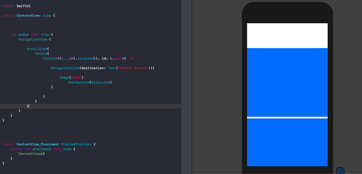 swiftui-navigationlink-scrollview-issue