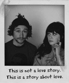 Image result for this is not a love story 500 days of summer