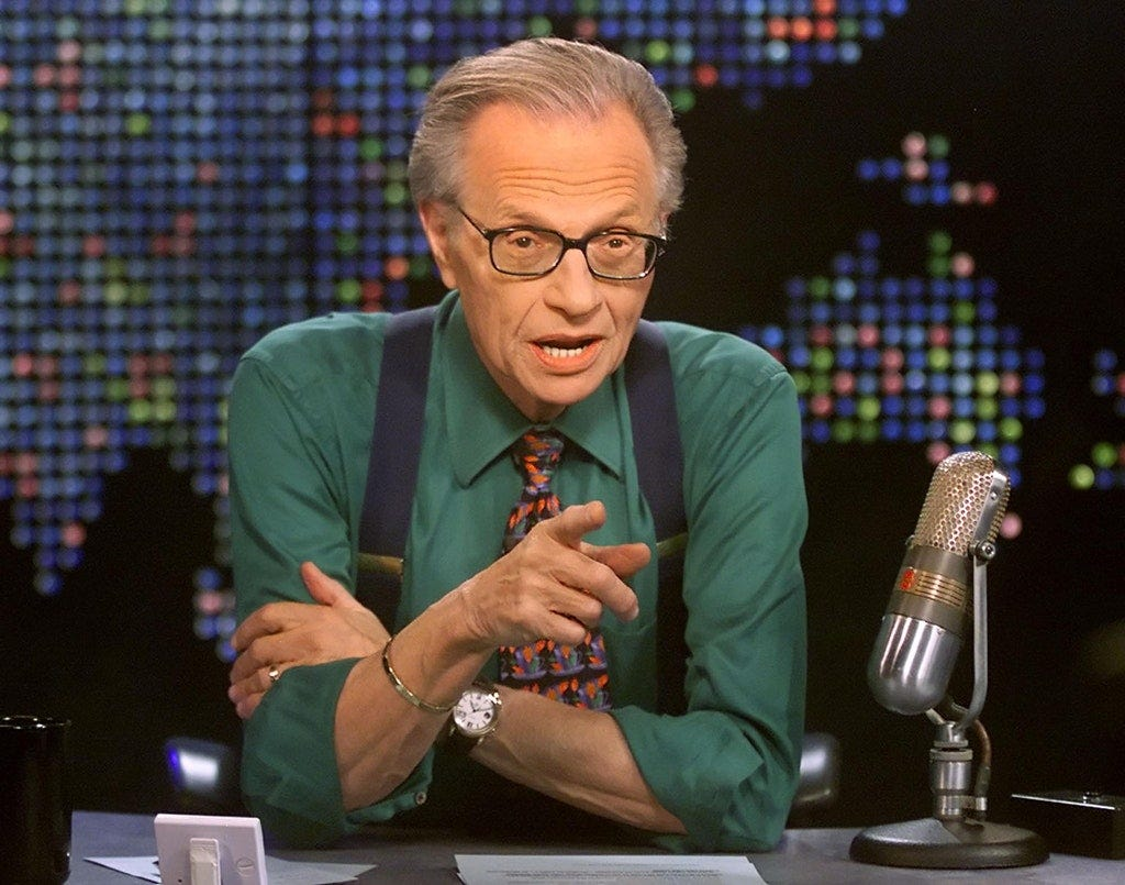 Report: Talk show host Larry King in hospital with COVID-19 | Star Tribune