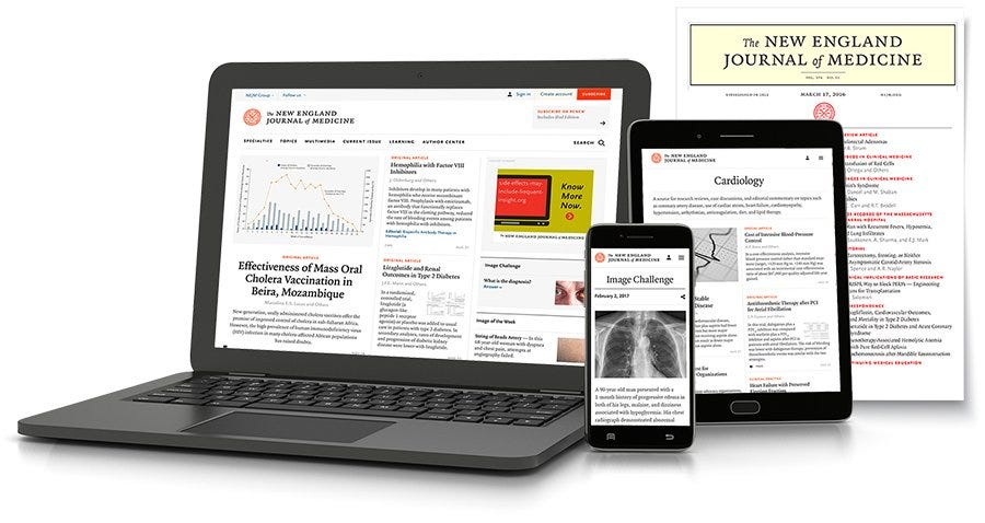 Personal Subscriptions | About NEJM