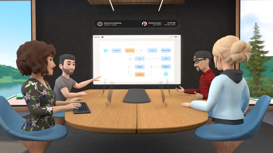 Introducing Horizon Workrooms: Remote Collaboration Reimagined - About  Facebook