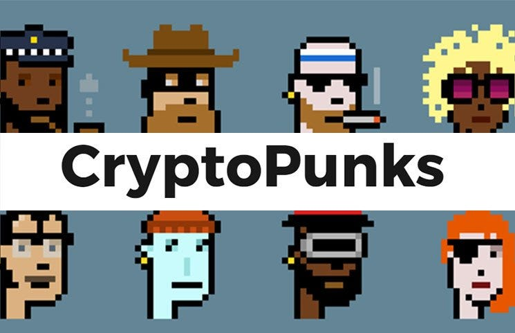 CryptoPunks – Larva Labs Ethereum Blockchain Collectible Characters?