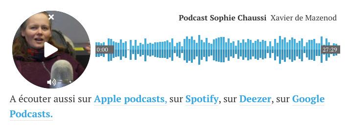Lecteur de podcast