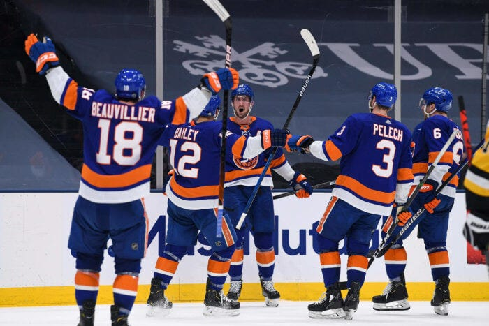 Islanders advance to Eastern Division Finals, take down Penguins in Game 6  behind 2nd period explosion   amNewYork