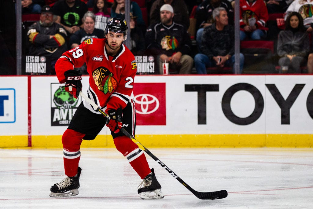 Nick Cicek Nets His First WHL Goal in Lethbridge – Portland Winterhawks
