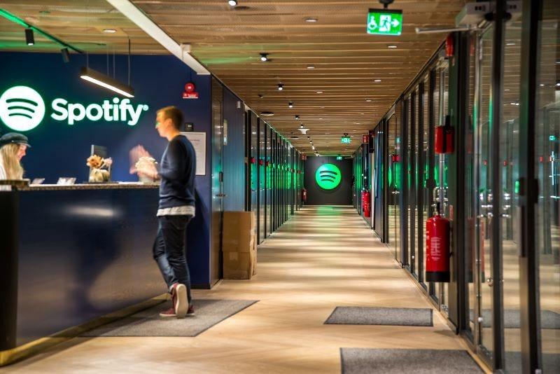 Офис Spotify